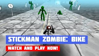 Stickman Zombie: Motorcycle · Game · Gameplay