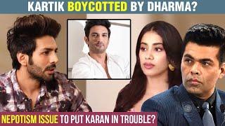Kartik Aaryan REPLACED From Dostana 2 | Karan Johar's Dharma To NEVER Work With Him!