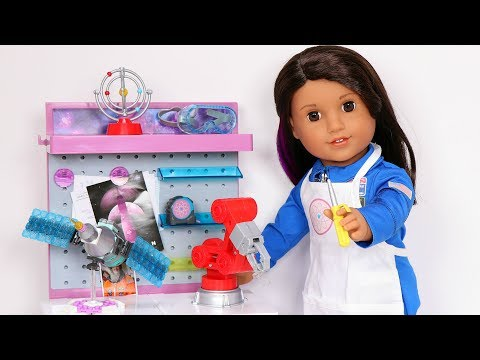 American Girl Luciana Vega Maker Station Unboxing, Setup & Review