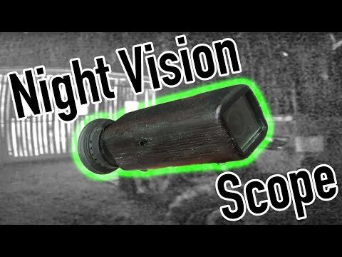 Homemade 3D Printed Night Vision Scope (pocket Size)