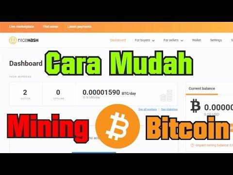 Cara Mendapatkan Uang dari Mining Bitcoin (Cryptocurrency)