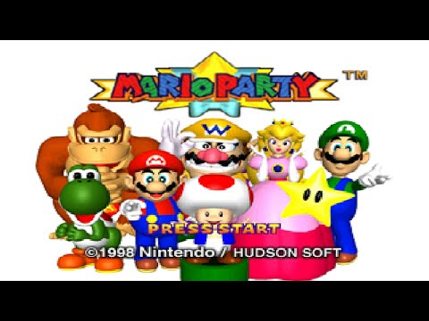 Mario Party (N64) - All Boards Longplay