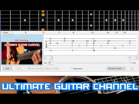 Guitar Solo Tab] Oh Darling (Beatles) - YouTube
