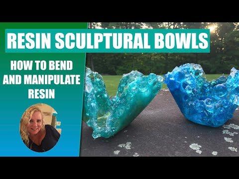 (51) Resin Sculpture Bowls