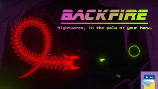 BACKFIRE: NEARLY BEAT THE FIRST BOSS! - iOS iPhone Gameplay Walkthrough (by Joel Rochon / GRYN SQYD)