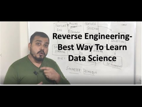 How To Apply Reverse Engineering To Learn Data Science