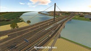 A 7 Mühlkreis Autobahn Voestbrücke Animation Bypass
