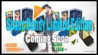 Anime News: Space Dandy Season 1 Exclusive LE Sets (By FUNimation & Amazon Coming March 2015)