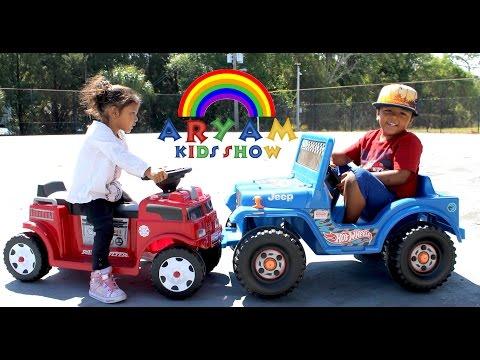 Radio Flyer Firetruck Vs Fisher Price Hot Wheels Jeep