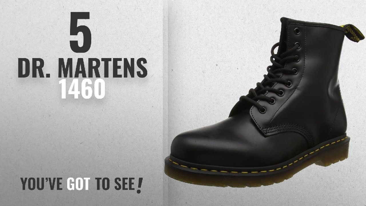a81ce3e34536 Top 5 Dr. Martens 1460  2018   Dr. Martens 1460 Originals 8 Eye Lace ...