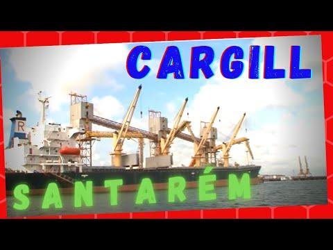 Safra de grãos do MT para a Cargill Santarém PA Repórter Jaime Alves 491