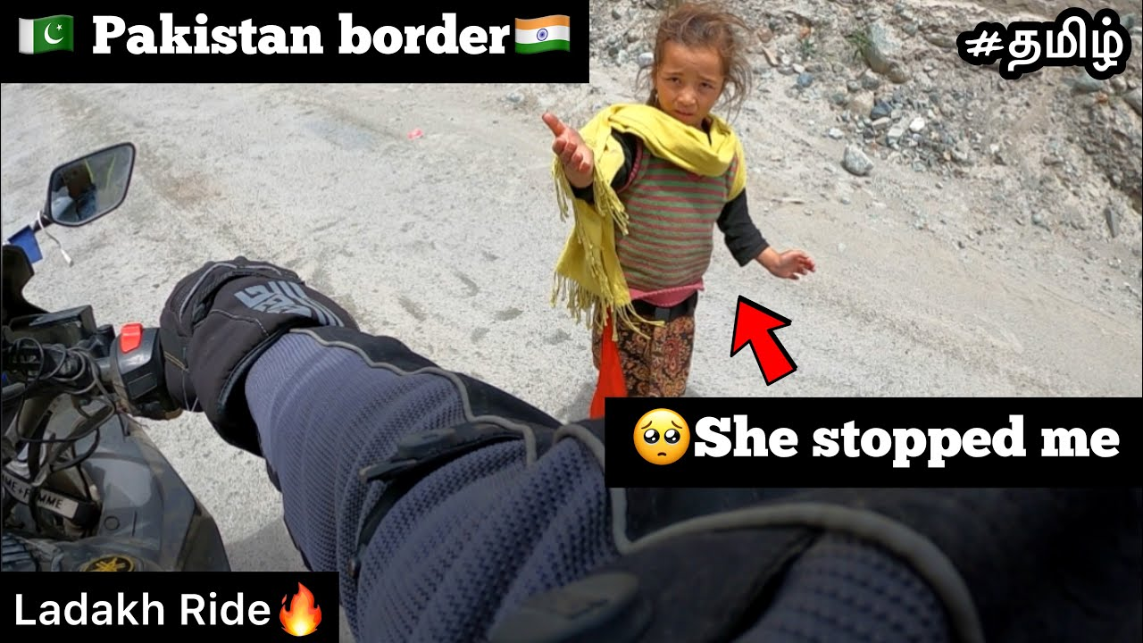 🥺She stopped me | Episode - 26 | 🇵🇰Pakistan border 🇮🇳| Ladakh Ride🔥|TTF | Twin Throttlers |