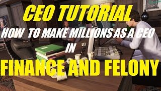 GTA 5 ONLINE - CEO TUTORIAL! HOW TO MAKE MILLIONS AS A CEO IN GTA ONLINE!!! (FINANCE AND FELONY)(GTA 5 ONLINE CEO TUTORIAL!!! HOW TO MAKE MILLIONS AS A CEO!!!!, 2016-06-08T20:42:06.000Z)