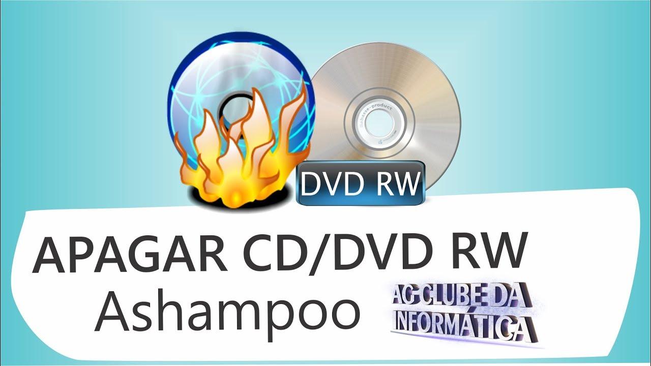 programa para apagar dvd regravavel