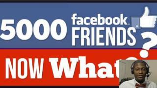 Facebook Friends Limit - 5000 FB Friends Now What by Jacque In Atlanta!