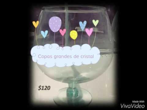 Copas grandes de cristal youtube for Copas de cristal