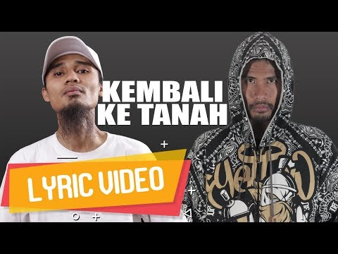 IBNU THE JENGGOT - Kembali Ke Tanah (ft. ECKO SHOW) [ Lyric Video ]