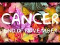 *CANCER* END OF NOVEMBER LOVE READING-THEY'RE BACK BUT STILL NOT READY (RETROGRADE REPEAT)