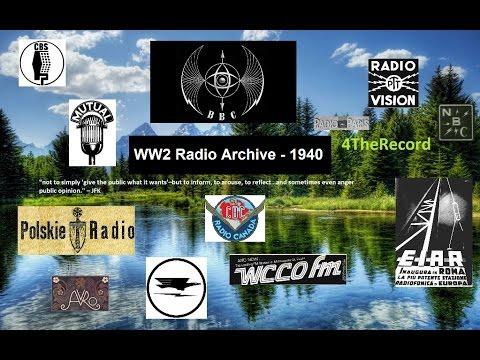 WW2 Radio Archive: January 1940