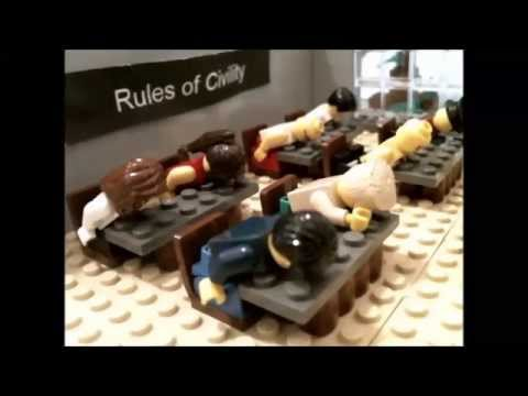 George Washington's Rules of Civility  Brickfilm
