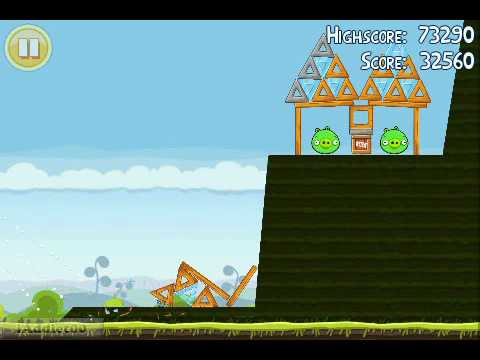 Angry Birds (Level 4-7) 3 Stars
