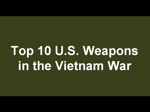 an analysis of artillery used in the vietnam war Electronic records relating to the vietnam war the number and type of weapons in each hamlet a system analysis view of the vietnam war.