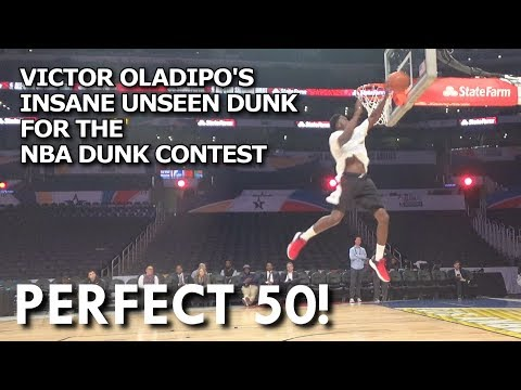 Victor Oladipo's Insane Unseen Dunk for the Dunk Contest