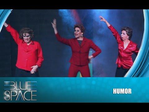 Blue Space Oficial - Natasha Rasha, Stefany Di Bourbon e Valentinni Drag - 07.11.15