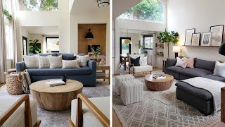How To Arrange A Living Room With Two Entrances