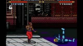 Street Combat SNES