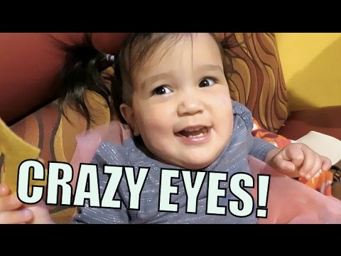 CRAZY EYES! - March 29, 2016 -  ItsJudysLife Vlogs thumbnail