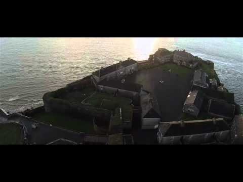 Duncanon Fort drone view
