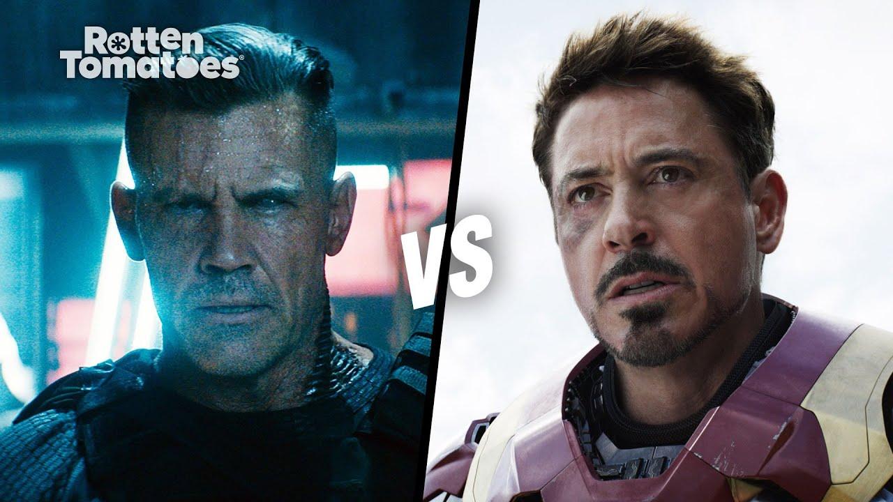 Josh Brolin vs. Robert Downey Jr. | Rotten Tomatoes