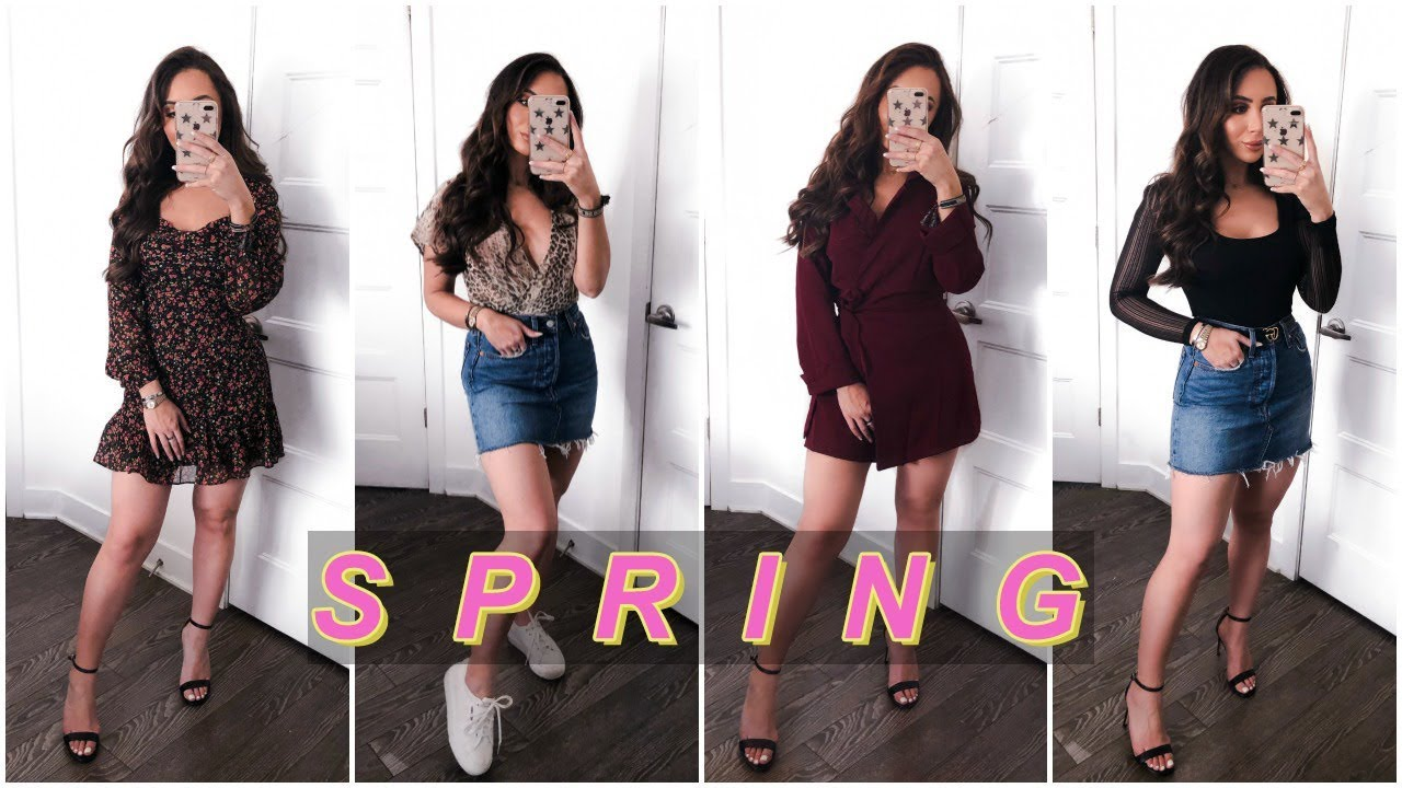 CLOTHES YOU NEED FOR SPRING 2019   LULUS LOOKBOOK 1