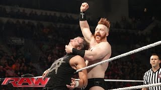 dean ambrose vs sheamus king of the ring first round match raw april 27 2015