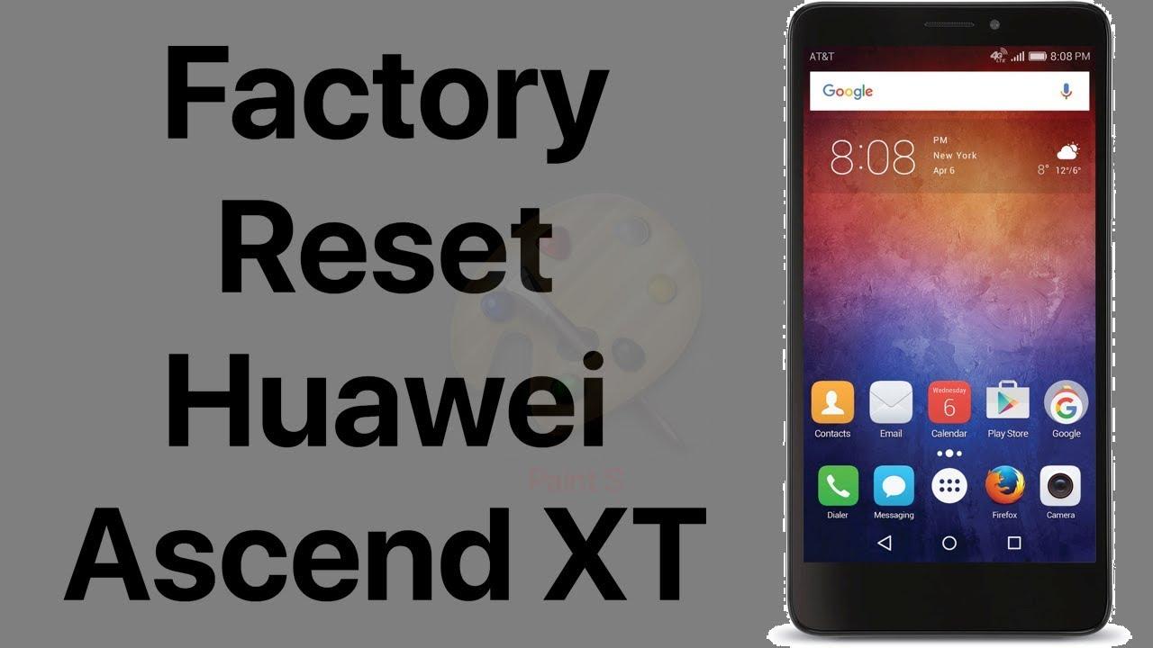 Factory Reset Huawei Ascend XT Model # H1611 | Hard Reset Huawei Ascend XT  | NexTutorial