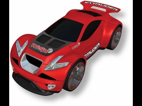 Review: Wi-Spi Intruder, RC Car With Spy Video Camera, Controlled by iOS or Android Device - 동영상