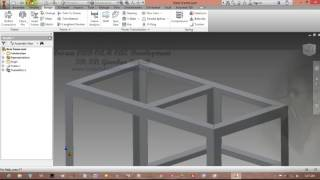 [How To Make] Frame (Rangka) With Frame Generator | Autodesk Inventor | Indar Luh Sepdyanuri #Part 2