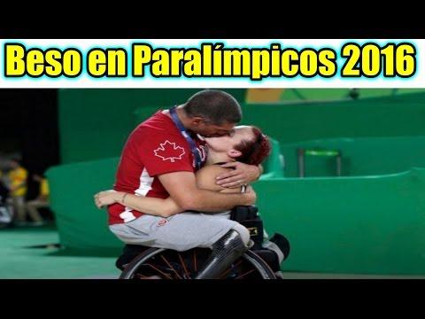 Pareja se BESA en los JUEGOS PARALÍMPICOS Río 2016