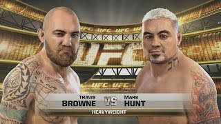 UFC 2014 PS4 - Exhibition Fight #5 ''HARD Difficulty'' Gameplay - The Ace Exclusive