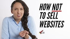 Selling Web Design Services: 10 Mistakes to Avoid!