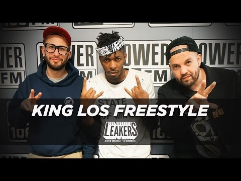 King Los 15 Minute Freestyle With The LA Leakers | #Freestyle003