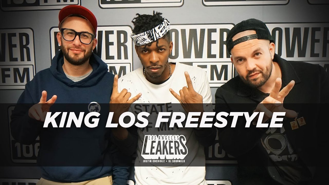 King Los Spits A Epic 15 Minute Freestyle With The LA Leakers !!