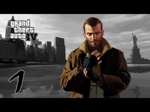 Прохождение Grand Theft Auto IV #1 - Город возможностей.