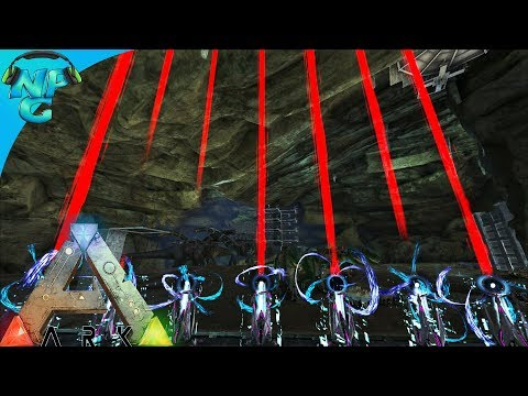 World War ARK - 2 Men 1 Base Raid the Floating Island Cave of Crazies! E8 ARK Survival Evolved