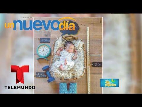 ¡Nacho Reveló El Nombre De Su Nuevo Hijo!   Un Nuevo Día   Telemundo