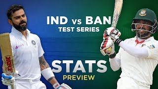 India vs Bangladesh, Test Series: Stats Preview