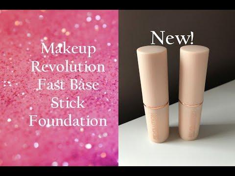 Testing Makeup Revolution Fast Base Stick Foundation / First Impression
