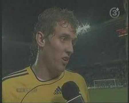Interview med Duncan efter 1-1 mod Randers på Hjalte Park