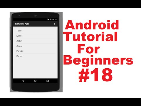 android-tutorial-for-beginners-18-#-android-listview